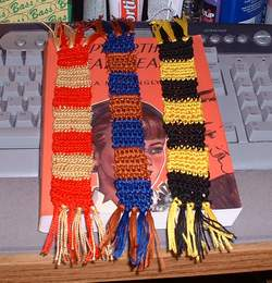 wizard scarf bookmarks